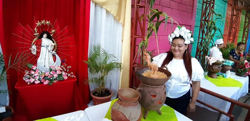 Una muestra en los anafres en Ciudad Darío