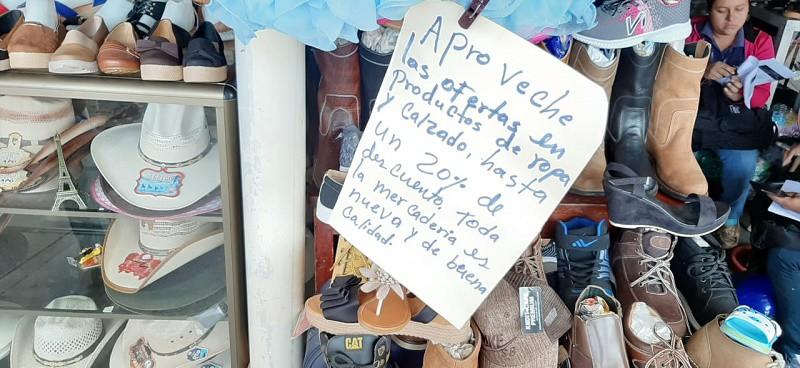 Excelentes precios de productos en la feria de descuentos en Juigalpa