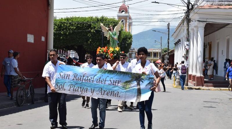 San Rafael del Sur con su patrono San Rafael
