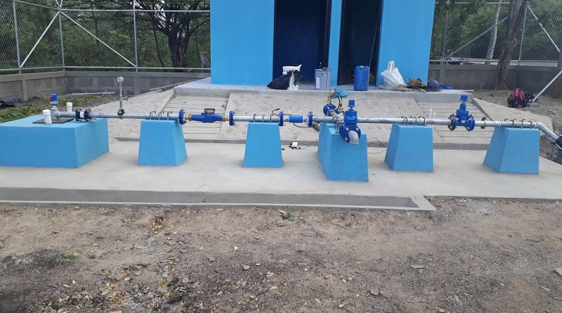 Mini acueducto por bombeo eléctrico (Mabe) en la comunidad Mateare de San Juan de Limay