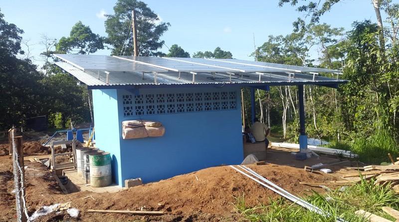 Sistema de agua potable en Talolinga, Nueva Guinea