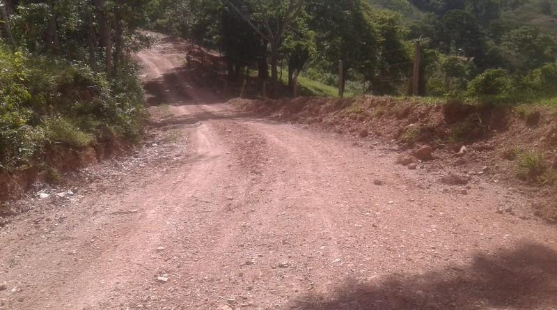 En Wiwilí de Nueva Segovia, el gobierno local mejoró siete kilómetros de camino tramo La Morena El Ocote con 400 mil córdobas.