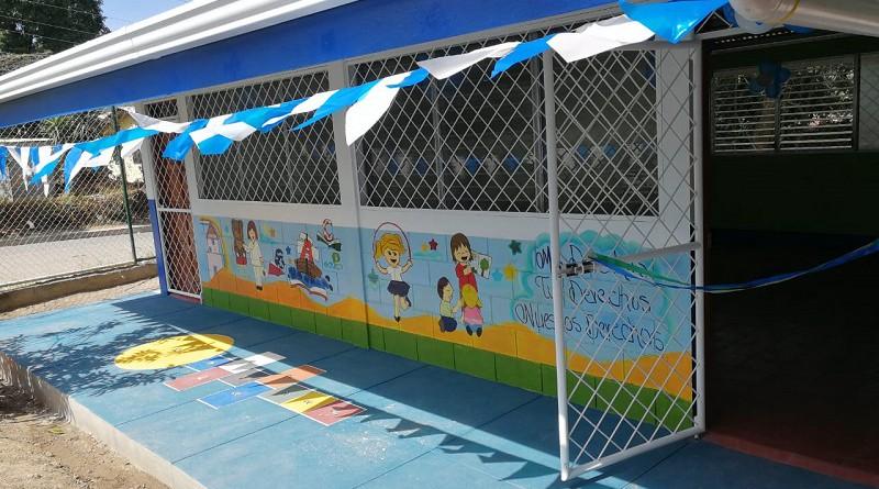 Escuela en El Llano Las Tejas, Jinotega