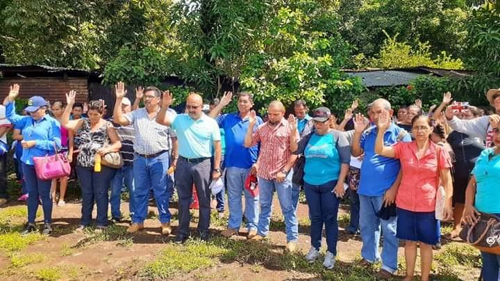 Los gobiernos locales también avanzan en la entrega de lotes del Proyecto Nacional Bismarck Martínez, ocho mil es la suma actual otorgada la meta es cubrir 10 mil familias este año. Protagonistas de Chichigalpa