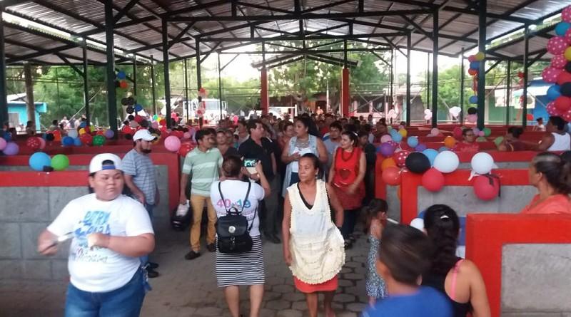 Imagen de la inauguración de II etapa de mejoras en mercado de San Rafael del Sur