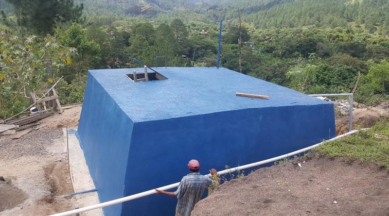 Mini Acueducto por Gravedad en la comunidad de las Lomas. Lugar: Comunidad Las Lomas