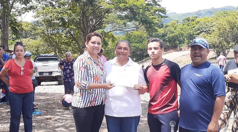 La alcaldía de Boaco concedió 57 terrenos a igual número de familias