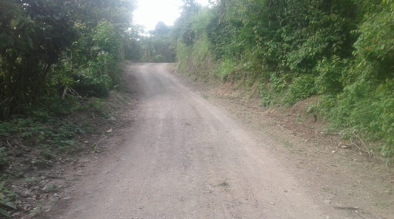 Camino rural en Wiwilí