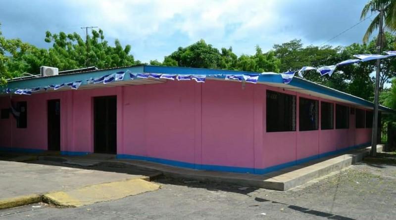 El gobierno del poder ciudadano de San Lorenzo amplio con un millón 390 mil 240 córdobas la consulta externa del hospital Amed Campos en la comarca El Papayal