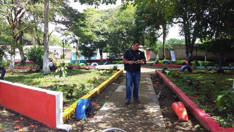 ParqueRubén Darío de San Marcos remodelado