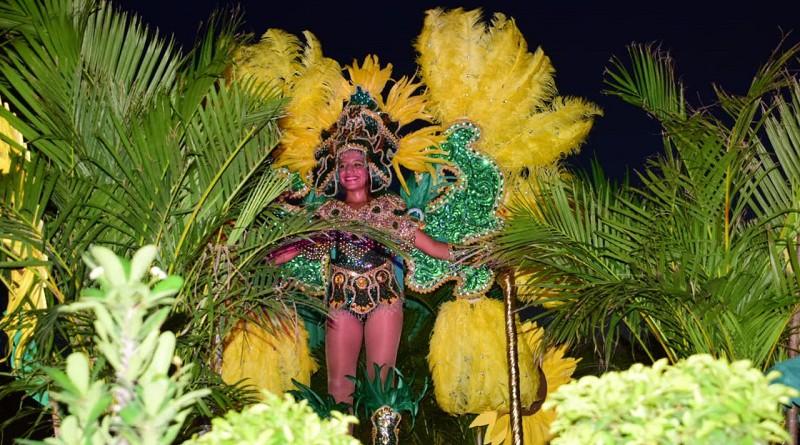 legre carnaval conmemorativo a las fiestas patronales de San Miguel Arcángel en Puerto Sandino