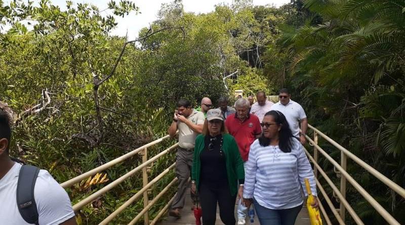 En el Parque Nacional Manuel Antonio