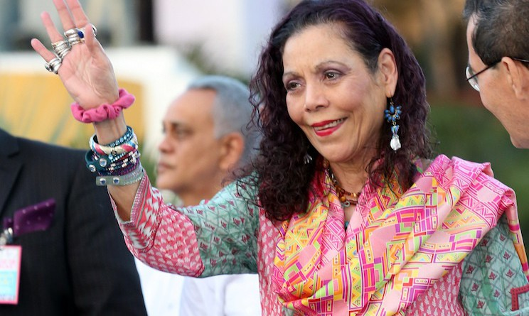 Vice presidenta Rosario Murillo