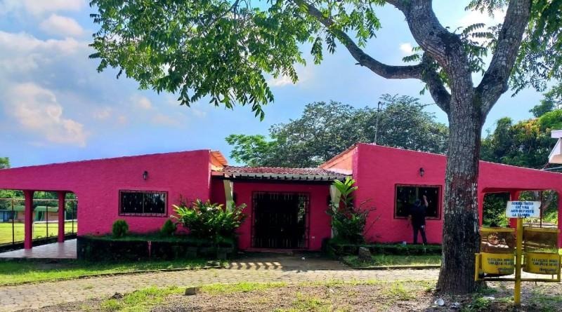 En San Juan de Oriente se practicaron mejoras en la casa   de atención para personas con necesidades especiales de salud.  Inversión: 318 mil córdobas