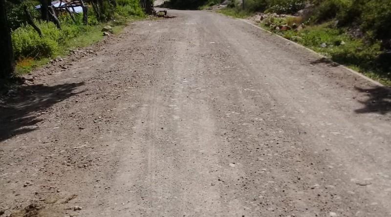 En la comunidad La Jabonera, San José de Cusmapa se mejoraron 19 kilómetros de caminos