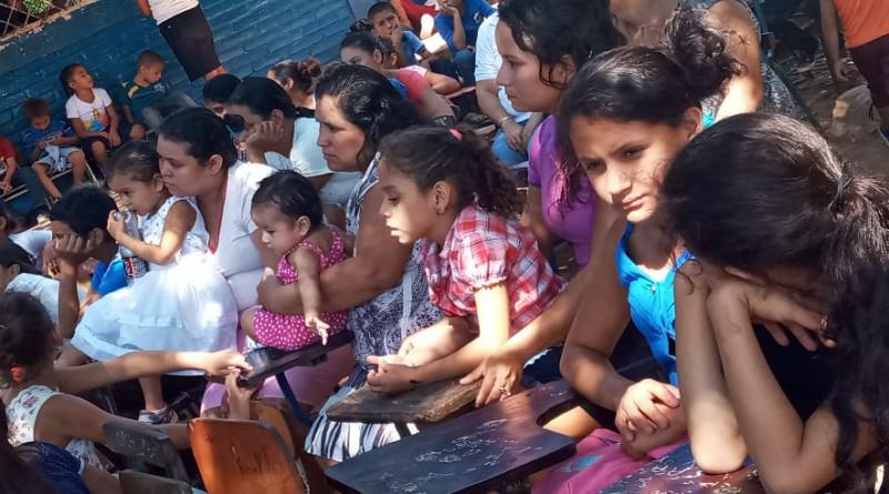 Las familias de la comunidad El Naranjo, inauguran el tramo de camino Suncuyal-Rodeo Grande en San Francisco del Norte