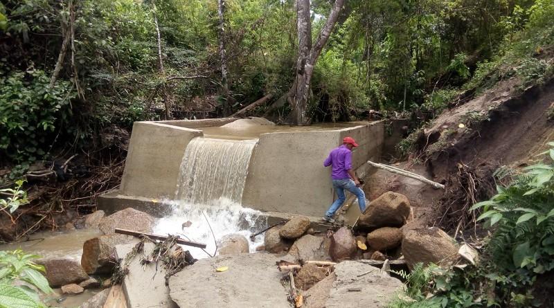 Sistema de distribución de agua potable en Jalapa