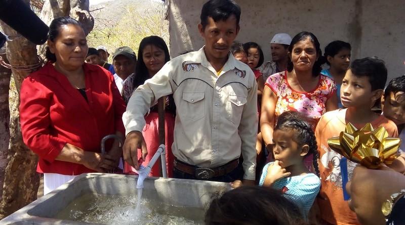 Somoto:Construcción de un sistema de agua potable en Cacaulí, sector Mata de Palo