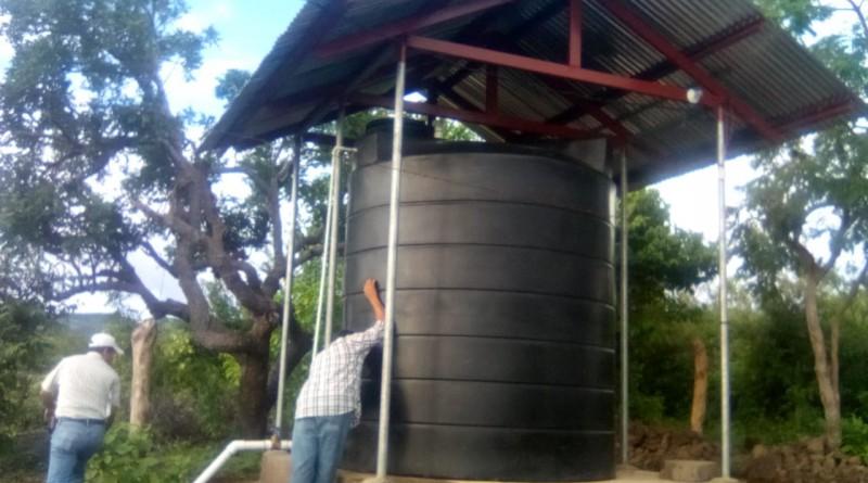 Las familias de la comunidad Cerro Pando de Tipitapa tendrán mayor cobertura de servicio de agua potable con la ampliación  domiciliar de abastecimiento del vital líquido