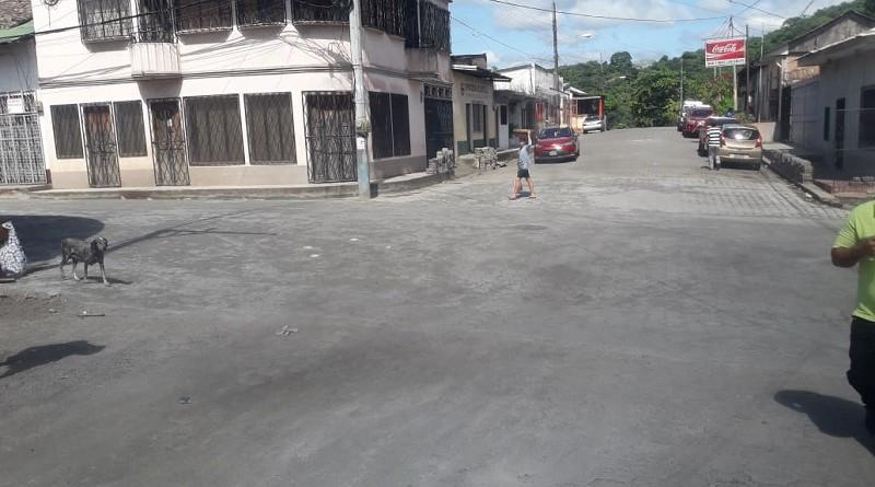 El gobierno local de Boaco  construyó una calle en el barrio Olama