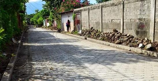 En Granada se construyeron tres calles en  Pancasán y Villa Feliz (Foto Villa Feliz)