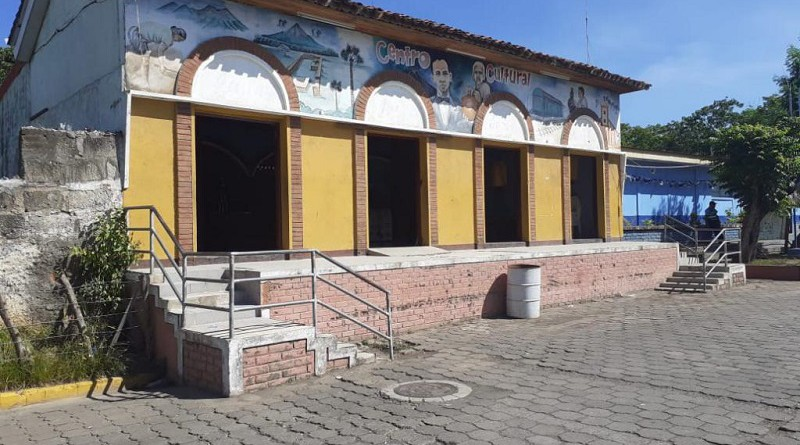 Casa de cultura en La Paz Centro
