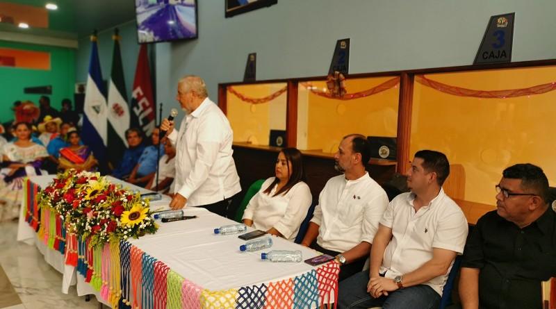 El compañero Orlando Noguera expresó gran satisfacción porque se sigue construyendo una Masaya y Nicaragua en progreso con visión de futuro.