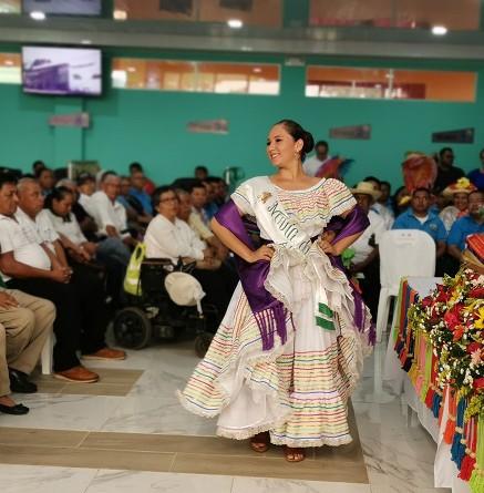 """La novia del 180 aniversario de Masaya, danza """"Aquella Indita"""""""