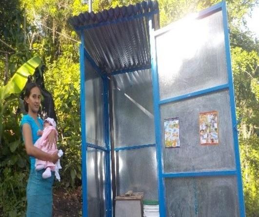 Obras de saneamiento se construyeron en la comunidad Laguna de San Onofre en San Lorenzo