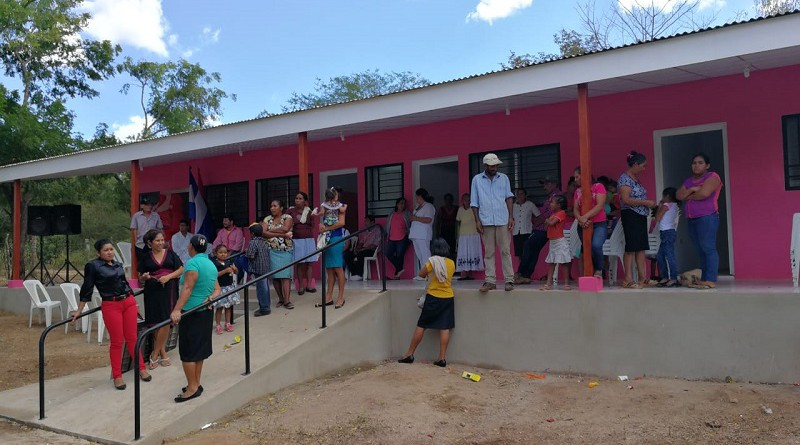 El gobierno local mejoró el puesto de salud en la comunidad La Carbonera, Somoto