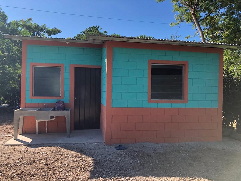 En san Juan de Limay se construyeron 30 viviendas
