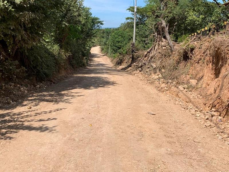 En Villanueva se mejoraron 8 kilómetros de camino en la comunidad Los Jenízaros