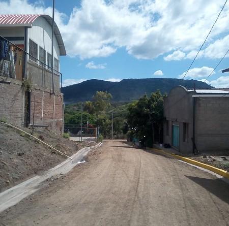 Los barrios cuyas calles se mejoraron en Condega son : Prudencio Serrano, Moisés Córdoba, Solidaridad, Juanita Vizcaya, Linda Vista, Praga y Guadalupe.