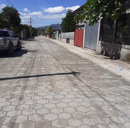 En el barrio Buenos Aires de Somoto, se construyeron dos calles