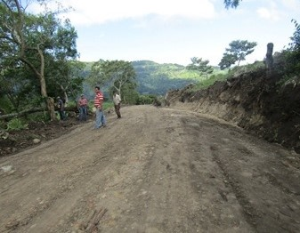 En la comunidad Nueva Esperanza en el municipio de Las Sabanas se restauraron tres kilómetros