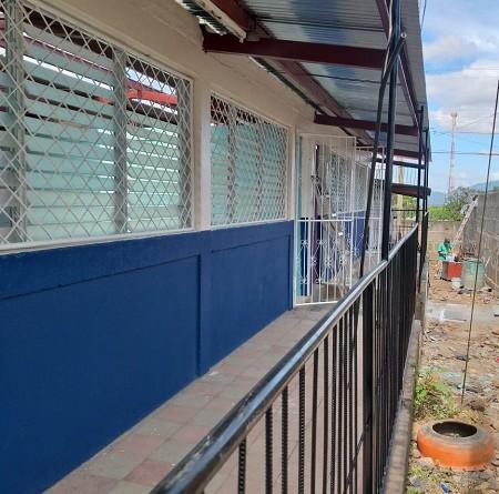 Mejora en la infraestructura del centro escolar situado en el barrio Sébaco Viejo