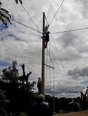 Ochenta y seis familias inaugurarán con alegría esta semana la instalación de energía eléctrica en igual número de viviendas de la comunidad Olingo en Quilalí. La inversión fue de 4.4 millones de córdobas.