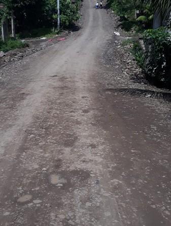 mantenimiento y apertura de ocho calles de macadán en Río Blanco