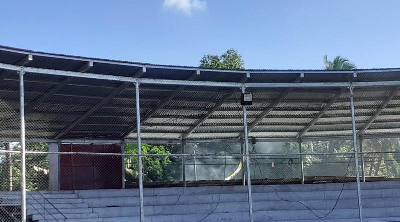 Barrera para las actividades taurinas fue mejorada en Acoyapa