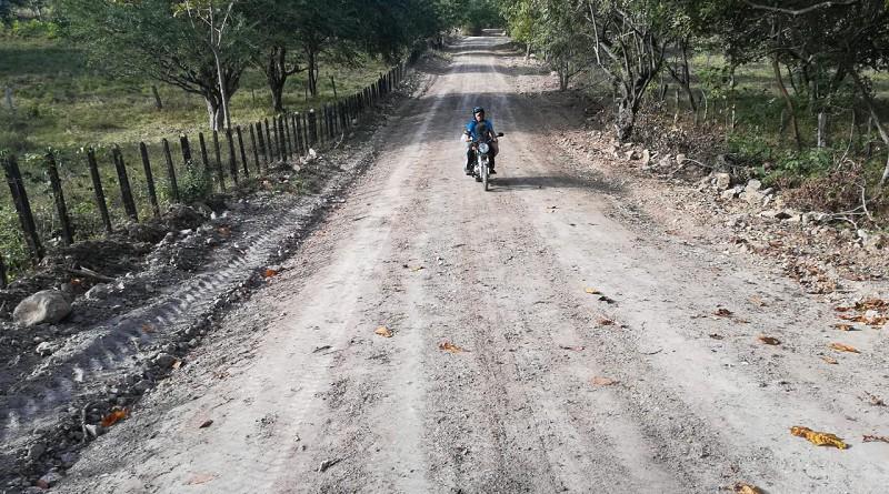 La alcaldía de Juigalpa mejoró 13.7 kilómetros de camino en la comunidad San Esteban