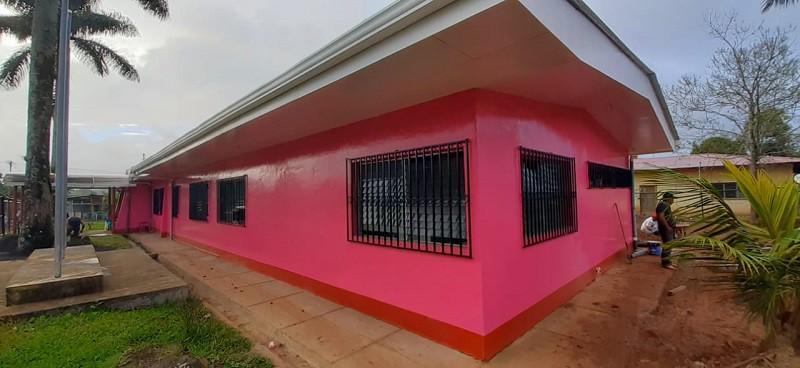 Casa Materna de la Libertad fue objeto de mejoras