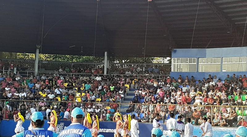 Estadio Efraín Tijerino de Chinandega con grandes mejoras.Engalanado con pintura, nuevas butacas, reunirá a los equipos León-Chinandega