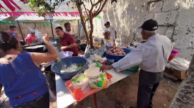 El picdillo es la comida típica de las fiestas de Diriamba