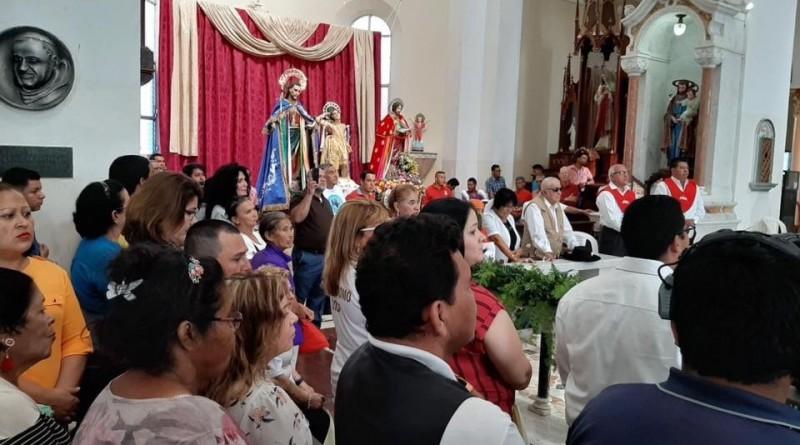 Santa misa en honor a San Sebastián