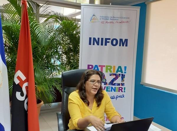 Guiomar Irías, directora ejecutiva de Inifom