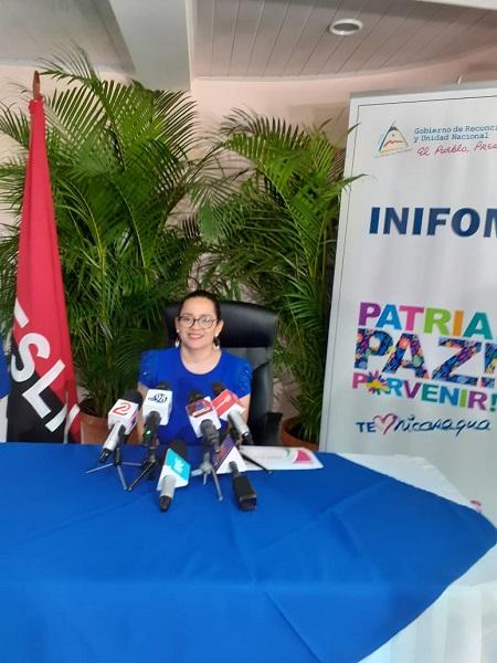 Sandra Castillo, directora general de Inifom