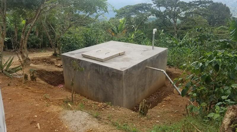 Sistema de agua potable en Dipilto recién construído