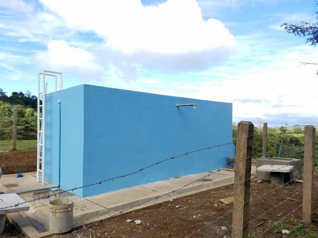 Sistema de agua potable de la comunidad El Zapote en San Rafael del Norte fue mejorado