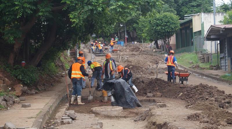 Obras de alcantarillado sanitario en Juigalpa que concluirán este año