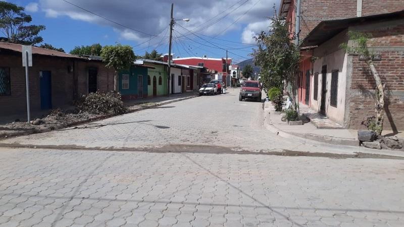 Calle en Estelí